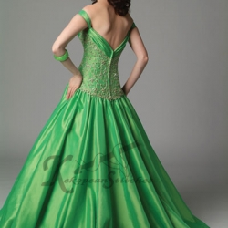 green-wedding-dress (10)