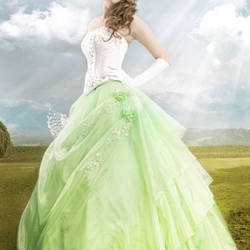green-wedding-dress (9)